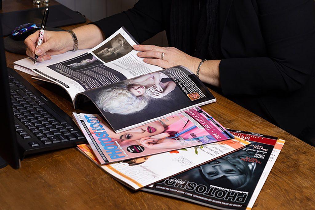 Magazine-editor
