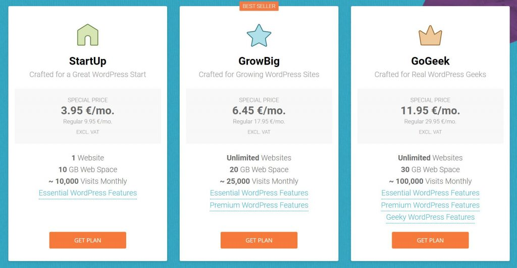 SiteGround for my Business and Blog WordPress Websites