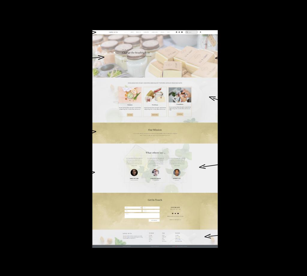 Design a WordPress Elementor website