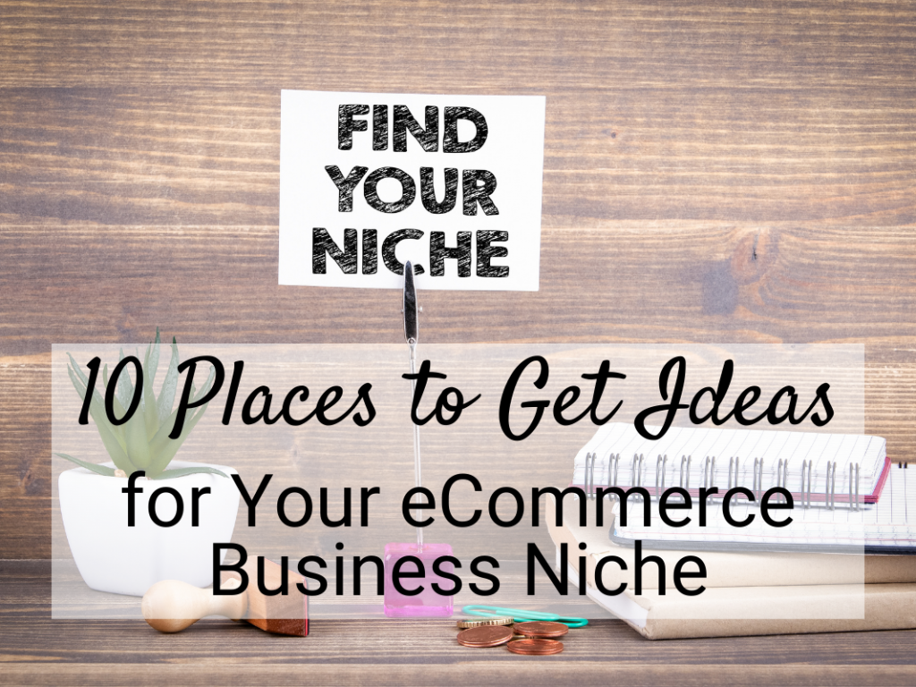 getting Ideas business niche