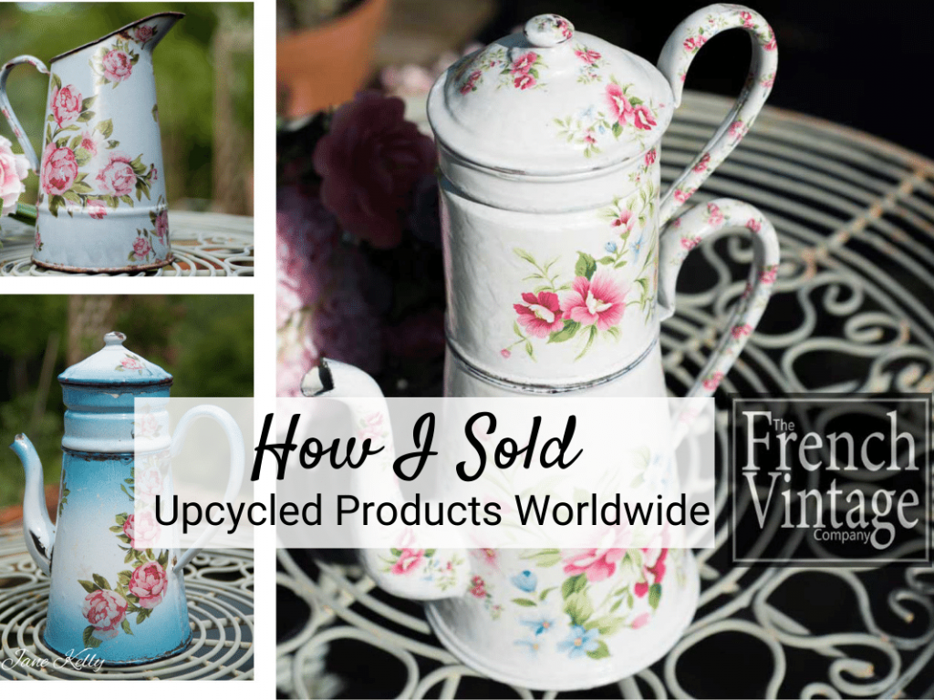 Sell Upcycled Products Worldwide